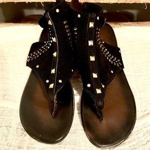 Madison Black Sandals